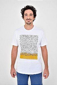 T-Shirt Silk Pontilhado