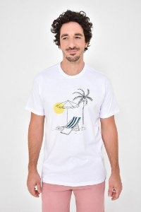 T-Shirt Silk Praia