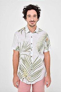 Camisa Manga Curta Botanique