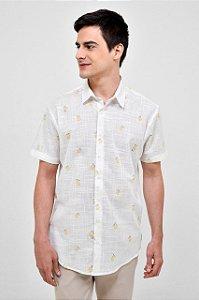 Camisa Manga Curta Siciliano