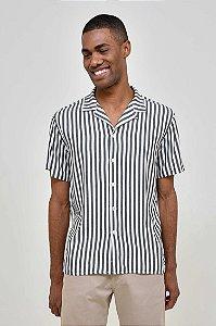 Camisa Manga Curta Praia List