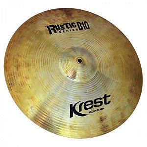 "Prato Krest Rustic Series Medium Crash 18"" Liga B10"