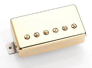 Captador Seymour Duncan Guitarra TB-59 '59 Trembucker Dourado