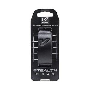 Abafador Gruvge FretWraps Stealth Edition, Logotipo 3D, Grande Preto
