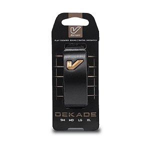 Abafador Gruvge FretWraps Dekade Edition, Logotipo 3D, Grande Preto