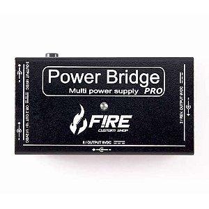 Fonte Fire para Alimentação de Pedais Power Brigde Pro