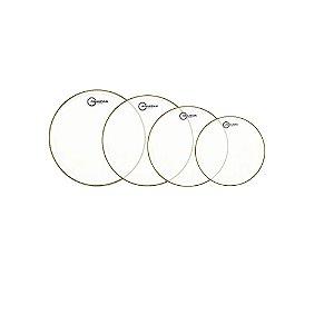 Kit Peles Aquarian Super-2 Clear 8 /10 /12 /14 + Tc14 Brinde