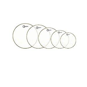 Kit Peles Aquarian Super-2 Clear 8 /10 /12 /14 /16 + Tc14 Brinde