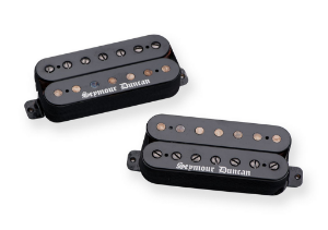 Captadores (Par) Guitarra 7 Cordas Black Winter, Preto
