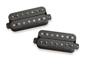 Captadores (Par) Guitarra 7 Cordas Nazgul+Sentient, Preto