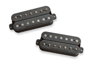 Captadores (Par) Guitarra 7 Cordas Pegasus & Sentient Set  Preto