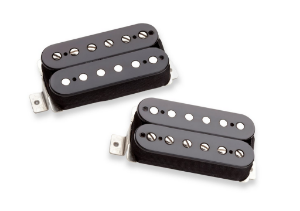 Captadores (Par) Guitarra Alnico Pro II Set, Preto