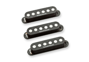 Captadores (Trio) Guitarra SSL-4 Quarter-Pound Strat Calibrated  Preto