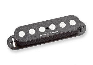 Captador Guitarra SSL-4 Quarter-Pound Flat Strat RwRp Preto