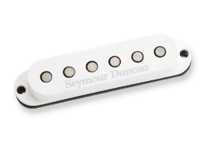 Captador Guitarra SSL-6 Custom Flat Strat RwRp Branco