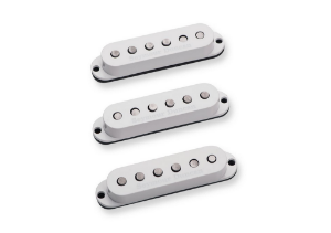 SEYMOUR DUNCAN: Captadores (Trio) Guitarra SSL-5 Custom, Branco