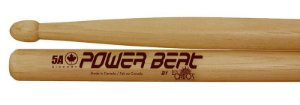Baquetas Power Beat 5A Intense Red Hickory