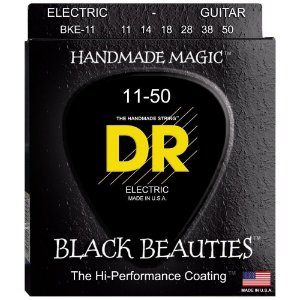 Encordoamento Black Beauties, Guitarra 11-50