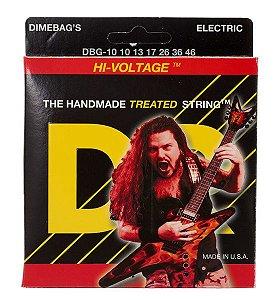Encordoamento Dimebag Darrell Hi-Voltage, Guitarra 10-46