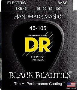 Encordoamento Black Beauties, Baixo 4 Cordas 45-105