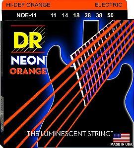 Encordoamento Hi-Definition NEON Orange, Guitarra 11-50