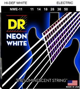 Encordoamento Hi-Definition NEON White Guitarra 11-50