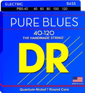 Encordoamento Pure Blues Baixo 5 Cordas, 40-120