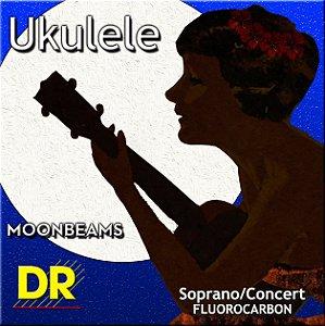 Encordoamento Ukulele Soprano/Concert, Clear Fluorocarbon 21-22