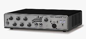 Cabeçote Aguilar Tone Hammer TH-700, Classe D, 700 Watts/4 Ohms