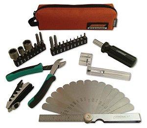 Kit Compacto de Ferramentas GrooveTech Para Guitarra E Contrabaixo, Com Bag