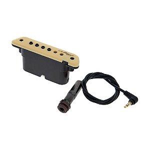 Captador LR Baggs M1A Magnético Ativo de Boca Para Violão Aço
