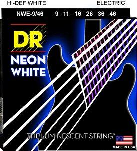 Encordoamento Hi-Definition NEON White, Guitarra 9-46 Níquel, K3 Coated, Hexa, Branca