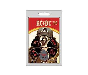 Palhetas Perri's Ac/Dc - Pacote Com 6 unidades