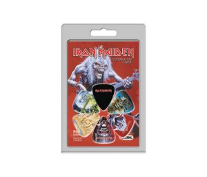 Palhetas Perri's Iron Maiden - Pacote Com 6 unidades