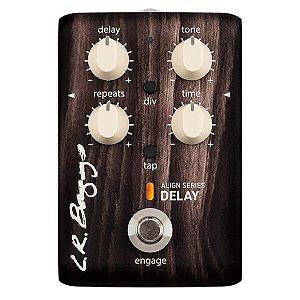 Pedal LR Baggs Align Delay, com Tone e Tap Tempo