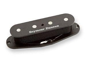 Captador Baixo 4 Cordas Seymour Duncan SCPB-2 Hot Single Coil P-Bass, Alnico 5, Preto
