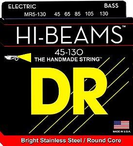 Encordoamento Hi-Beams Baixo 5 Cordas, 45-130, Aço Inox, Núcleo Redondo
