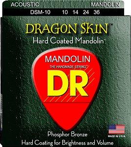 Encordoamento Dragon Skin Mandolin, 10-14-24-36, Phosphor Bronze, Hexa, Terminal Em Laço