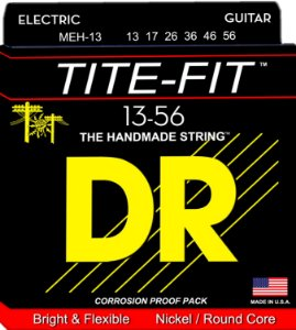 Encordoamento Tite-Fit Guitarra 13-56 Mega Heavy, Níquel, Núcleo Redondo