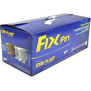 FIXPIN - PINO PLÁSTICO - ETIQPLAST - CX 5.000