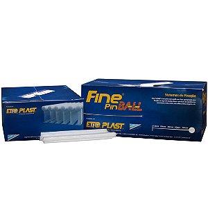 FINE PIN BALL - PINO PLÁSTICO FINO - ETIQ PLAST - CX 5.000