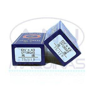 TG-UY128GAS - AGULHA P/ GALONEIRA - LONGA - (DVX43) - TIGER - KIT