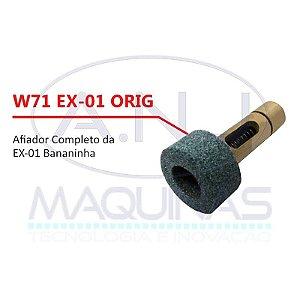 """W71 - AFIADOR COMPLETO P/ MÁQUINA DE CORTE TIPO """"BANANINHA"""" EX-01 - EXATA"""
