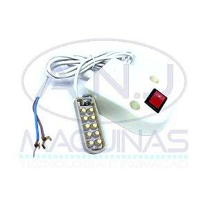 LED10 - LUMINÁRIA COM 10 LEDS - JUKI