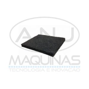 FT-6279-MT - FELTRO AGULHADO 10MM - 1300 X 1000 - PRETO