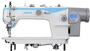 JK-2060GHC-4Q - MÁQUINA DE COSTURA RETA ELETRÔNICA TRANSPORTE TRIPLO BASE PLANA - JACK