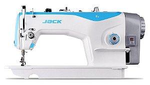 JK-F4-HL-7 - MÁQUINA RETA DIRECT DRIVE C/ LANÇADEIRA GRANDE E PONTO 7MM - JACK