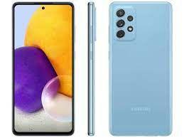 Celular Samsung Galaxy A72 128GB 4G Wi-Fi Tela 6.7'' Dual Chip 6GB RAM Câmera Quádrupla + Selfie 32MP - Azul