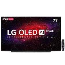 "Smart Tv Lg 77"" 4k Oled Wifi Bluetooth Hdr Inteligência Artificial Thinqai Smart Magic Google Assistente Alexa"