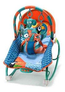 Cadeira De Balanço Para Bebês 0-20 Kg Elefante Multikids Baby